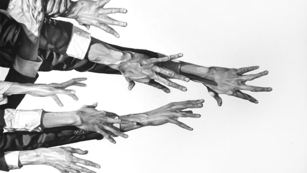 """""""The Grasping Hand,"""" Artwork by Stavros Pavlides"""