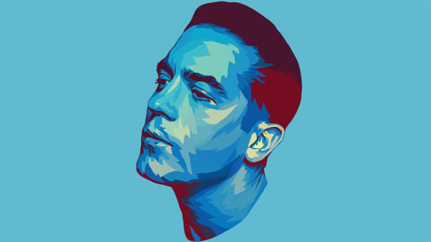 G-Eazy illustration, 2018