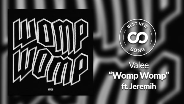"Valee ""Womp Womp"" Jeremih Best New Song artwork"