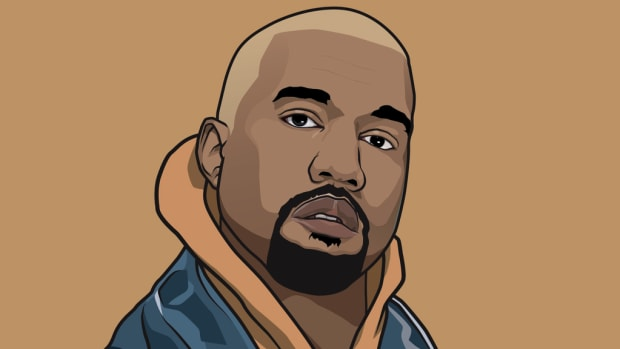 Kanye West artwork, 2018, by Jabriel Najjar