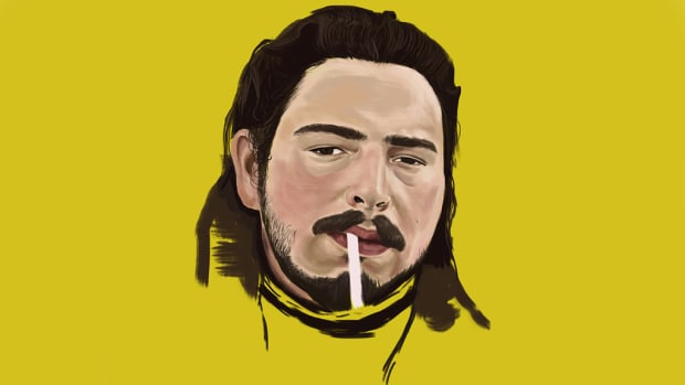 Post Malone, 2018, by John Paul David