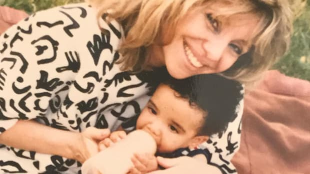 Drake and his mother, Sandi Graham