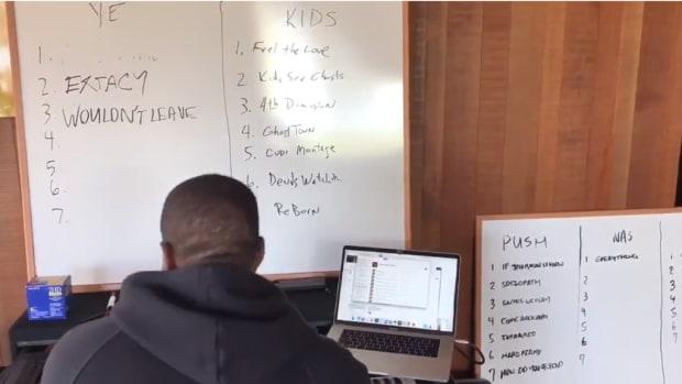 Kanye West teases five new albums
