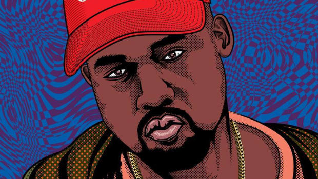 Kanye West illustration, 2018