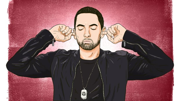 Eminem illustration, 2018
