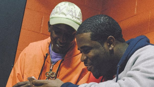 "A$AP Ferg Landed on Buddy's ""Black"" Because Pharrell Has Kids"