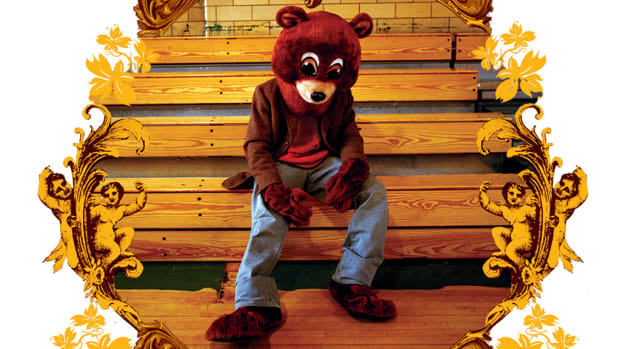 Kanye West The College Dropout album art