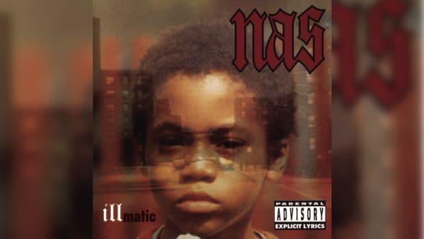 Nas Illmatic album cover
