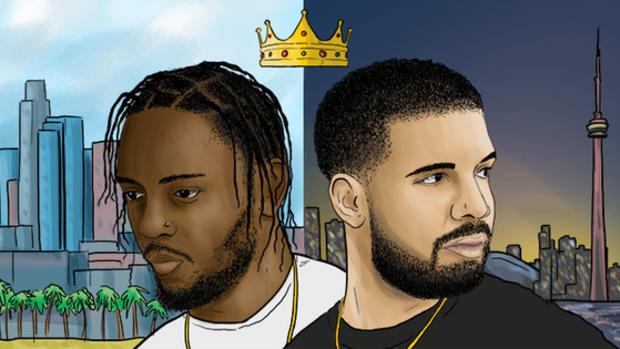 Drake, Kendrick art.