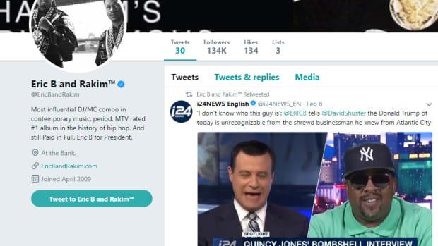 Eric B. & Rakim Twitter