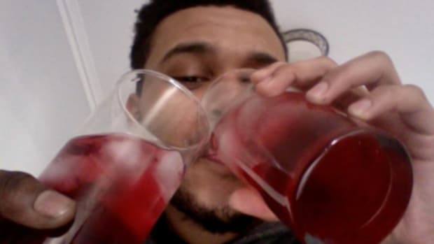 The Weeknd, drinking