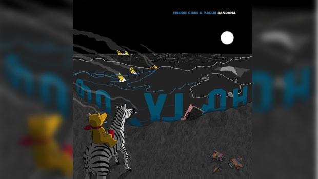 Freddie Gibbs, Madlib, Bandana, album art