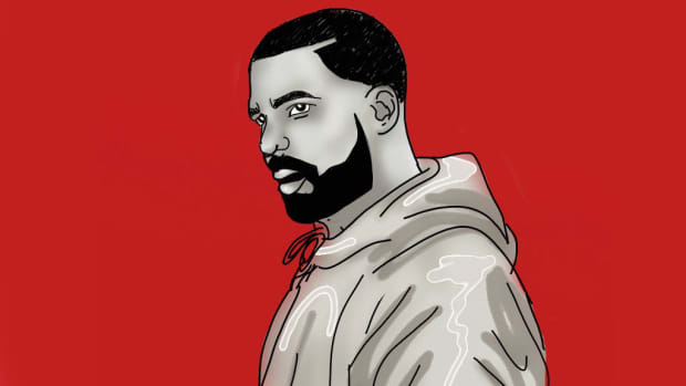 Drake illustration, 2019