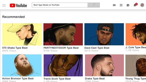 Ranking the 10 Greatest Generic Rap Beats on YouTube