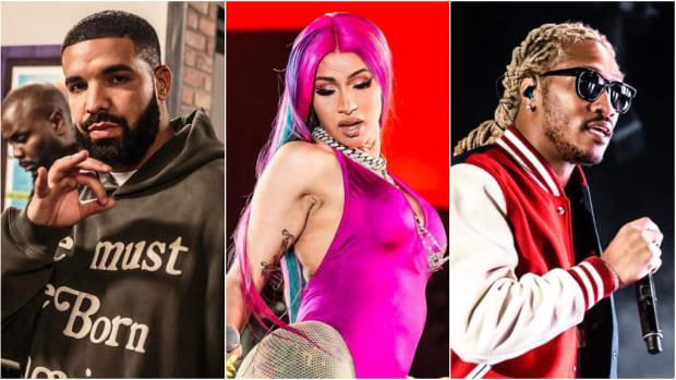 Drake, Cardi B, Future