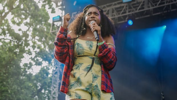 Noname at Pitchfork Festival in Chicago, 2018