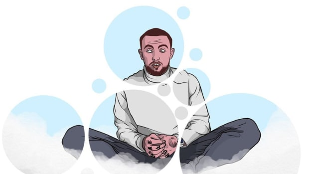 Mac Miller Circles art, 2020