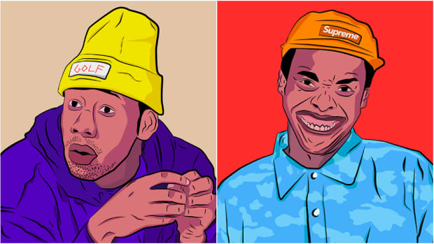 Tyler, The Creator, Earl Sweatshirt illustrations