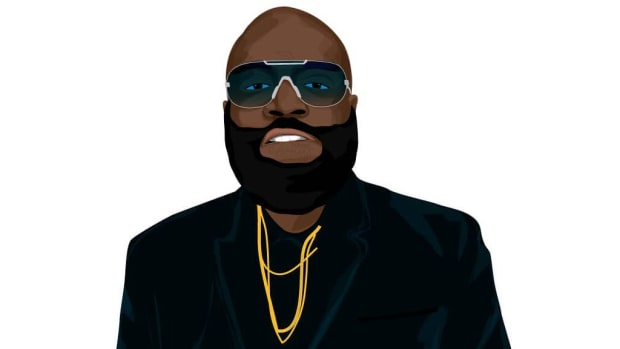 Rick Ross illustration by Nick Miller