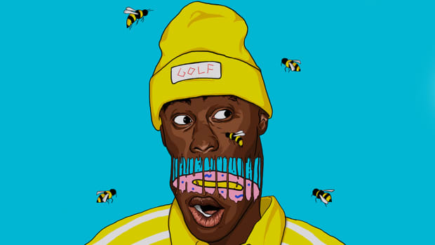 Tyler, The Creator art by Tony Clifford