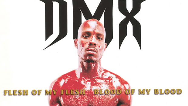 DMX 'Flesh Of My Flesh Blood Of My Blood' cover art