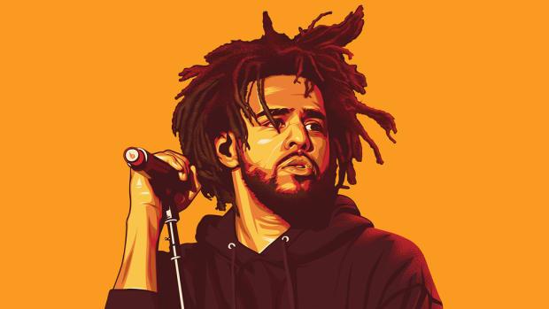 J. Cole illustration, 2018