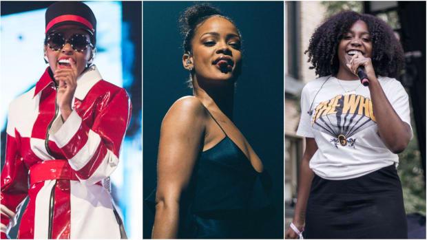 Janelle Monae, Rihanna, Noname