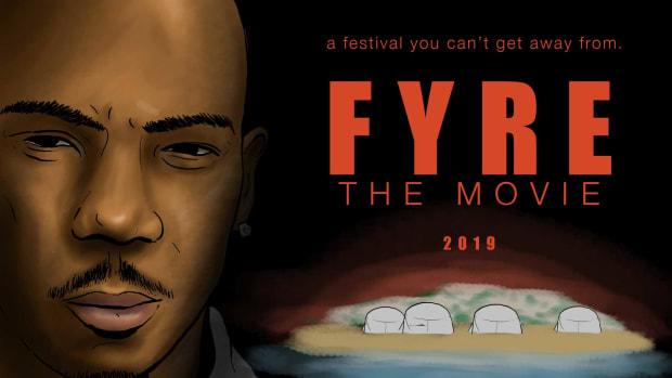 Ja Rule in Fyre The Movie, 2019