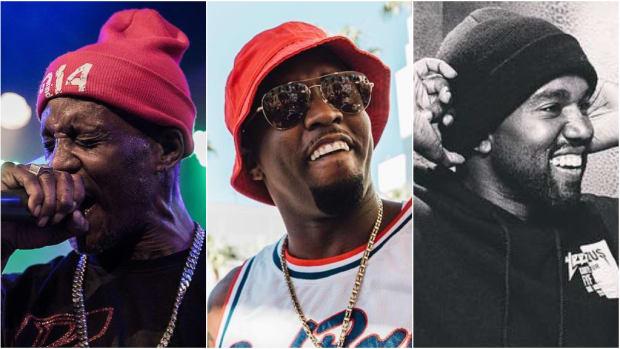 DMX, Diddy, Kanye, 2019