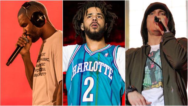 Frank Ocean, J. Cole, Eminem, 2019