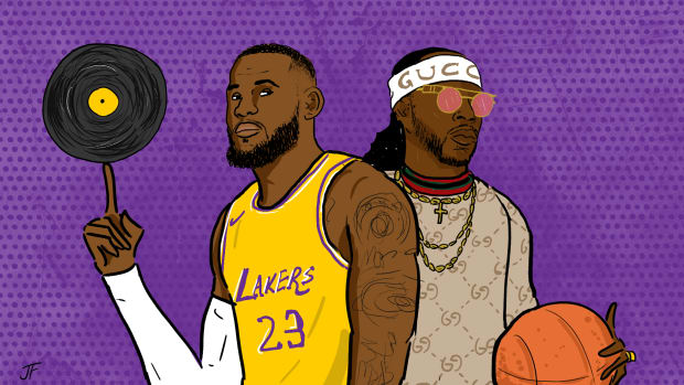 LeBron, 2 Chainz, NBA players as hip-hop A&Rs