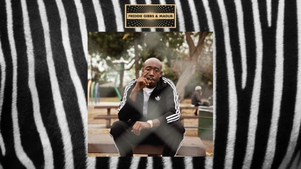 Freddie Gibbs, Madlib, Pinata, album cover