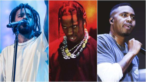J. Cole, Travis Scott, Nas, 2019