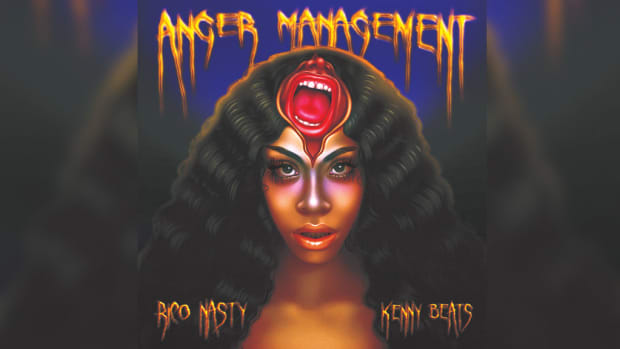 Rico Nasty, Kenny Beats, Anger Management, album review, album cover, 2019