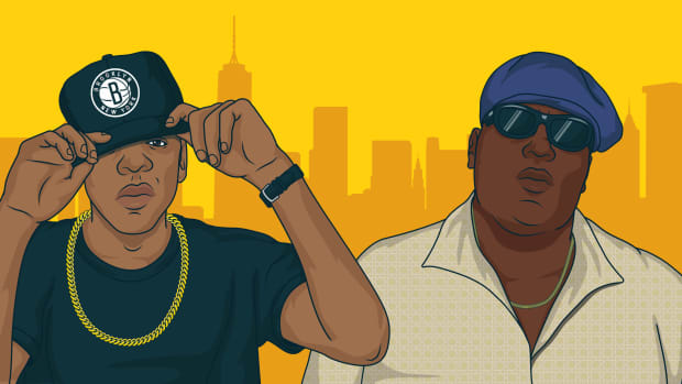 JAY-Z, Biggie, artwork, illustration, New York, kings, 2019