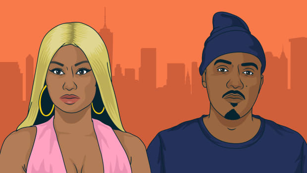 Nicki Minaj, Nas, artwork, illustration, 2019