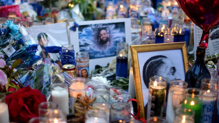 I Went to Nipsey Hussle's Memorial
