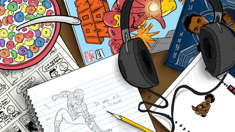How Comic Books Became the 6th Element of Hip-Hop