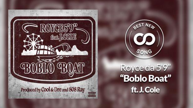 "Royce da 5'9"" and J. Cole ""Boblo Boat"" Best New Song"