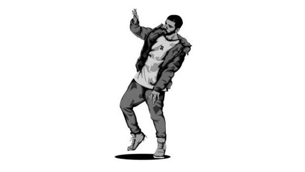 Drake, dancing, art