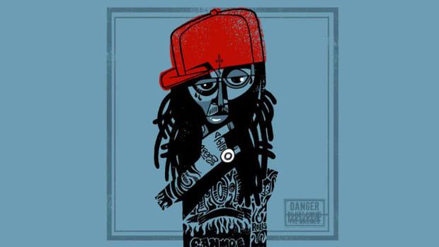 Lil Wayne A Milli, artwork
