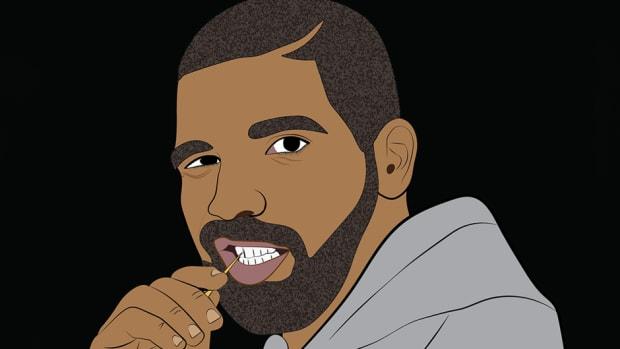 Drake illustration by Victoria Kanehira