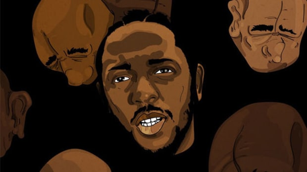 Kendrick Lamar, illustration, 2017