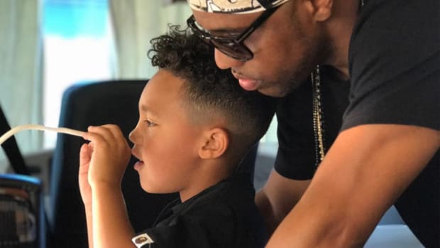 Consequence with son Caiden