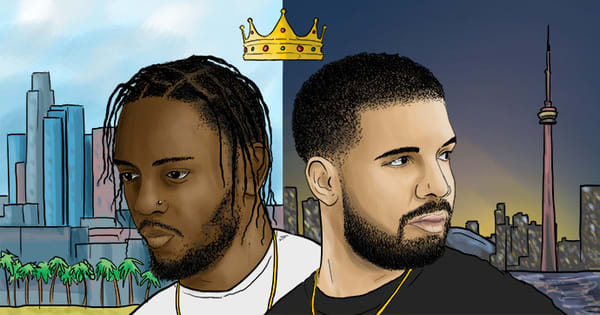 Drake vs. Kendrick—the bliss of living in the moment and the fear of what comes after.