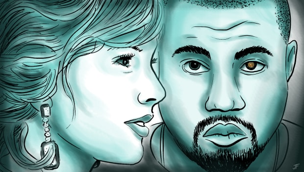 Here's What Happens If Kanye Never Interrupts Taylor Swift
