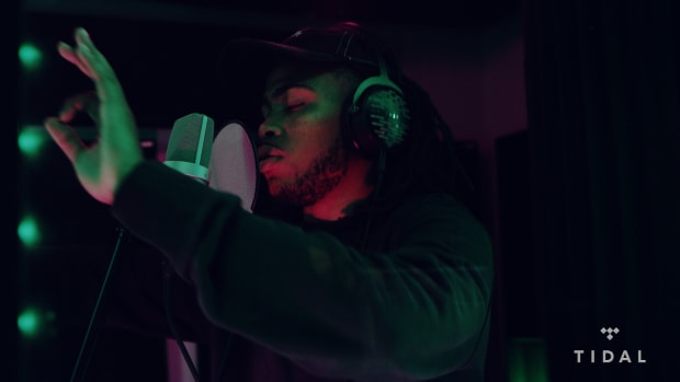"""Childish Major Spits an Exclusive Freestyle for DJBooth & TIDAL's """"Bless The Booth"""" Series"""