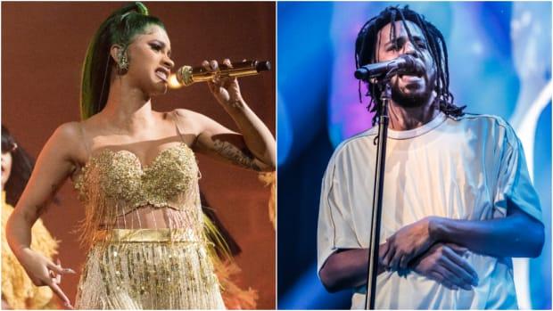"""J. Cole: """"Seeing Cardi B Win a Grammy Make Me Feel Like I Won"""""""