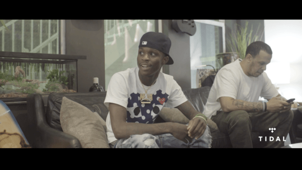 """Quando Rondo Spits an Exclusive Freestyle for DJBooth & TIDAL's """"Bless The Booth"""" Series"""