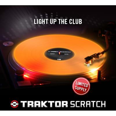 traktor releases new fluorescent control vinyl djbooth. Black Bedroom Furniture Sets. Home Design Ideas